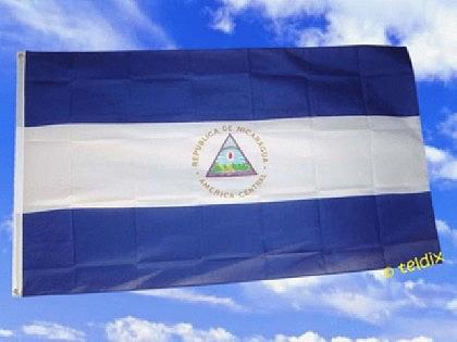 Flagge Fahne NICARAGUA 150 x 90 cm