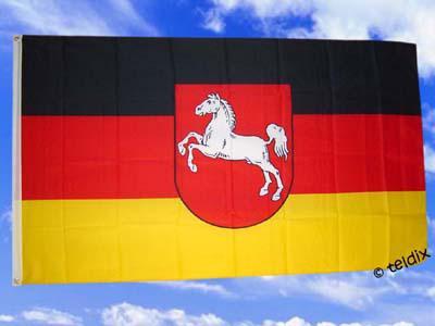 Flagge Fahne NIEDERSACHSEN 150 x 90 cm - Vorschau