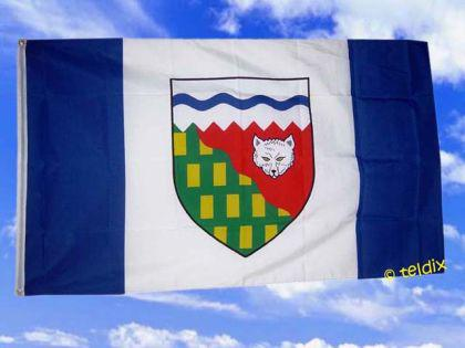 Flagge Fahne NORDWEST TERRITORIEN 150 x 90 cm