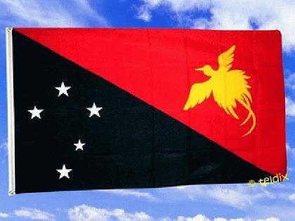 Flagge Fahne PAPUA NEUGUINEA 150 x 90 cm - Vorschau