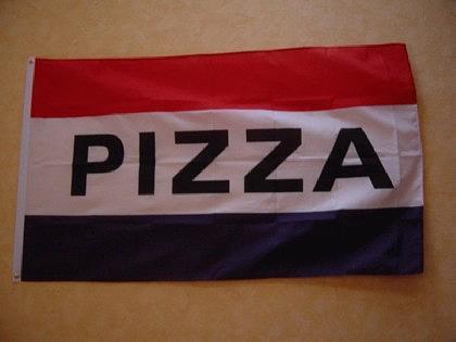 Flagge Fahne PIZZA 150 x 90 cm