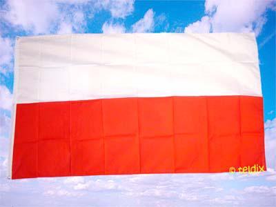 Flagge Fahne POLEN OHNE WAPPEN 150 x 90 cm