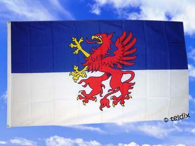 Flagge Fahne Pommern 150 X 90 Cm - Vorschau
