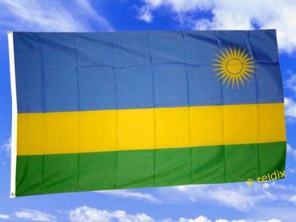Flagge Fahne RUANDA 150 x 90 cm