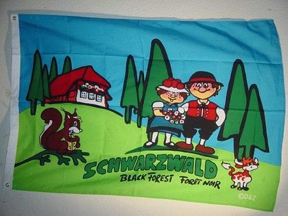Flagge Fahne SCHWARZWALD 135 x 90 cm