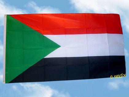 Flagge Fahne SUDAN 150 x 90 cm