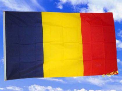Flagge Fahne TSCHAD 150 x 90 cm