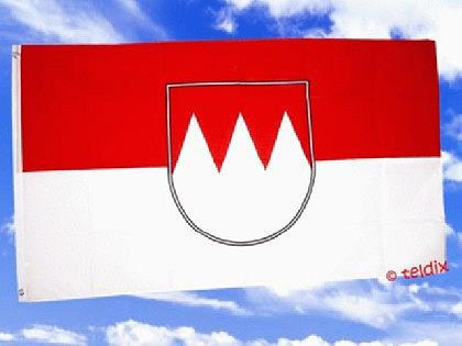 Flagge Fahne FRANKEN 150 x 90 cm