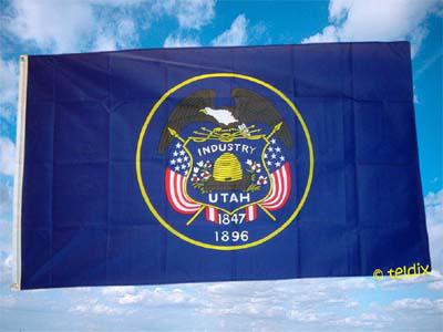 Flagge Fahne UTAH 150 x 90 cm - Vorschau
