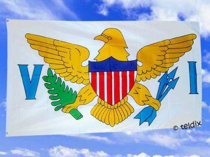Flagge Fahne VIRGIN ISLANDS 150 x 90 cm