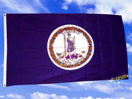 Flagge Fahne VIRGINIA 150 x 90 cm - Vorschau