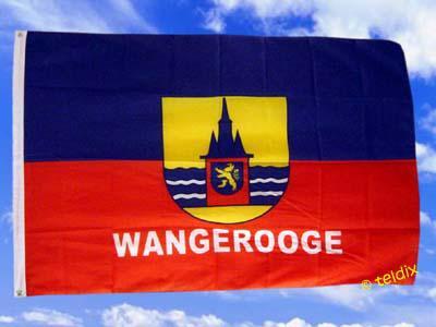 Flagge Fahne WANGEROOGE 135 x 90 cm