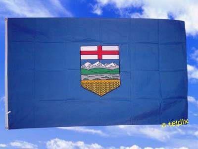 Flagge Fahne ALBERTA 150 x 90 cm