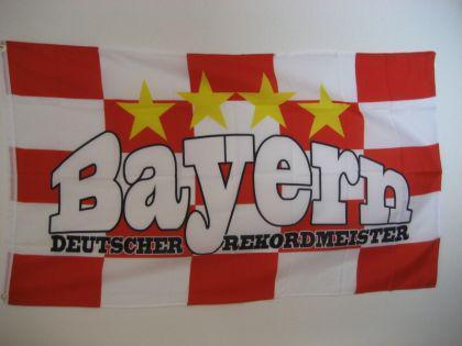 Flagge Fahne BAYERN REKORDMEISTER 150 x 90 cm