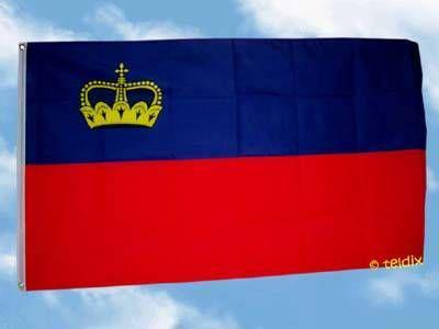 Flagge Fahne LIECHTENSTEIN 150 x 90 cm