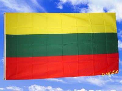 Flagge Fahne LITAUEN 150 x 90 cm