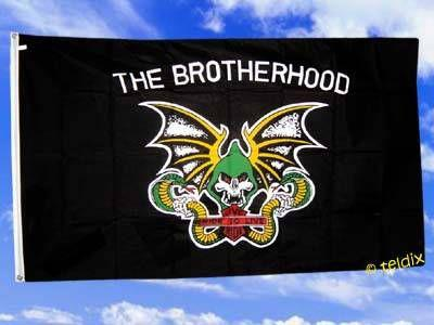 Flagge Fahne THE BROTHERHOOD 150 x 90 cm