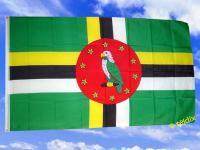 Flagge Fahne DOMINICA 150 x 90 cm