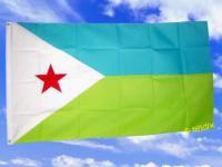 Flagge Fahne DSCHIBUTI 150 x 90 cm