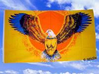 Flagge Fahne FLYING EAGLE 150 x 90 cm