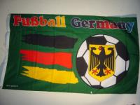 Flagge Fahne GERMANY FUSSBALL 150 x 90 cm