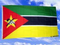 Flagge Fahne MOSAMBIK 150 x 90 cm