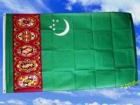 Flagge Fahne TURKMENISTAN 150 x 90 cm