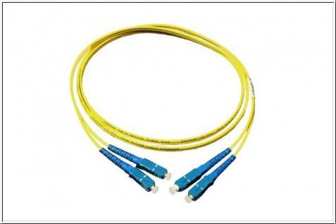 kabelmeister® Patchkabel LWL Duplex OS1 (Singlemode, 9/125) SC/SC, 5m - Vorschau
