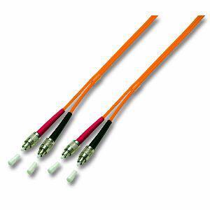 kabelmeister® Patchkabel LWL Duplex OS2 (Singlemode, 9/125) 4xFC/PC, gelb, 1m