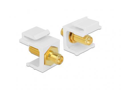 Keystone Modul RP-SMA Buchse an RP-SMA Buchse, Delock® [86356]