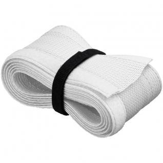 Kabelschlauch mit Klettverschluss zur sauberen Kabelbündelung, weiß, 1, 8m