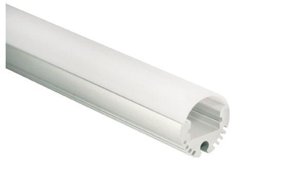 Al-Profil für LED-Leisten, Ø 20, 8mm, ca. 2m