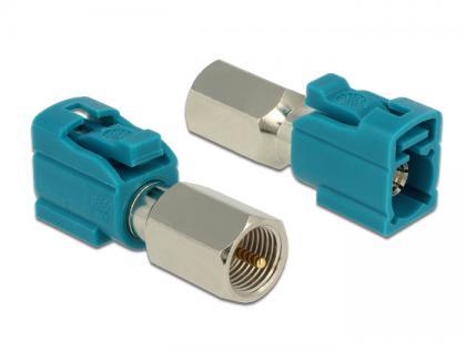 Adapter FAKRA Z Buchse an FME Stecker, Delock® [88927]
