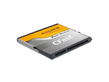 CFast Flash Card SATA 6 Gb/s, 32 GB, Typ MLC, Delock® [54650]
