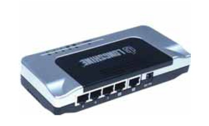 Longshine® 5-port 10/100 Mini Switch LCS-FS6105-B