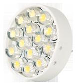 Power SMD-LED, 1, 1W, 12V, 40 lm, 3000K, (warmweiß), nicht dimmbar, A+, 120____deg; Abstrahlwinkel - Vorschau