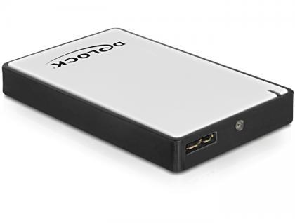 Gehäuse 1.8 micro SATA HDD/SSD an USB 3.0, Delock® [42487]