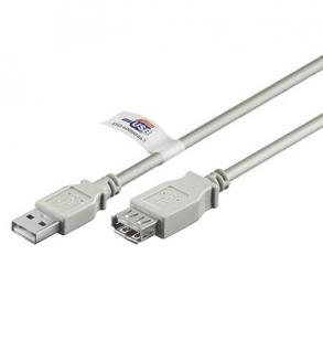 USB 2.0 Cert. Verlängerung, 5m