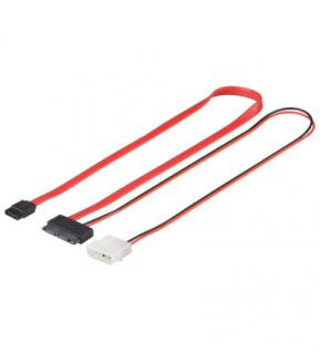 kabelmeister® MicroSATA Anschlusskabel 1.5 Gb/s / 3.0 Gb/s, 30cm