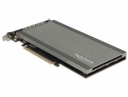 PCI Express x16 Karte zu 2 x intern NVMe M.2 Key M, Delock® [89961]
