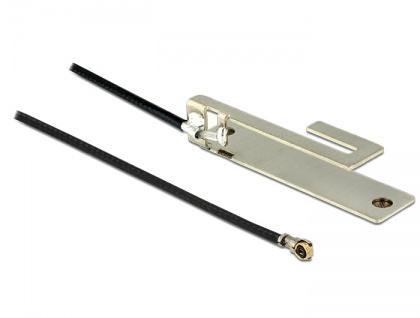 WLAN Antenne MHF IV/ HSC MXHP32 802.11 b/g/n PIFA 3 dBi 250 mm intern, Delock® [86183]