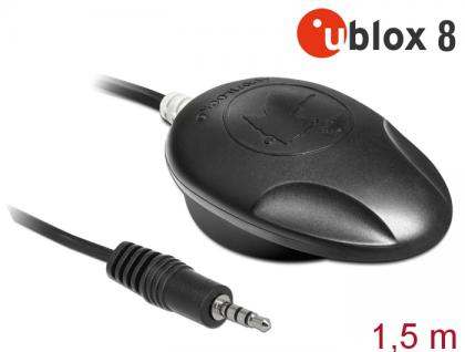 NL-8008T Klinke TRRS TTL Multi GNSS Empfänger, u-blox 8, 1, 5m, Navilock® [62586]
