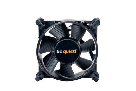 Be Quiet!® Shadow Wings SW1, Gehäuse Lüfter, 80mm Low-Speed [BQT T8025-LR-2]