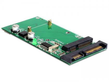Konverter USB 2.0 SATA 22 Pin an mSATA full size, Delock® [62493]