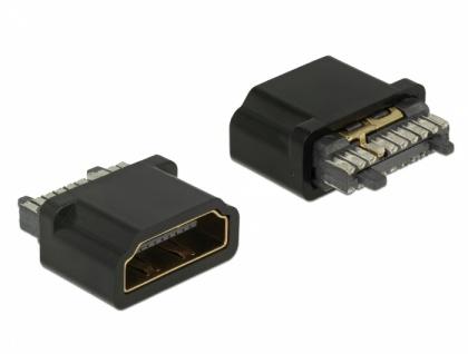 Steckverbinder HDMI-A Buchse, Delock® [65885]