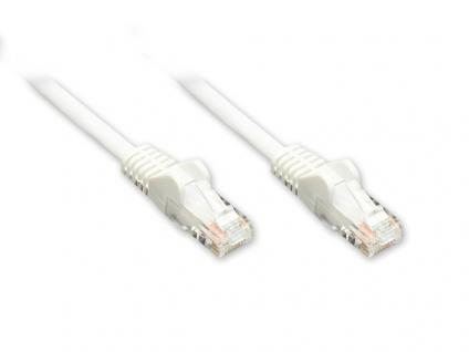 Patchkabel, Cat. 6, U/UTP, weiß, 10m, Good Connections®