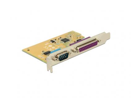 PCIe x1 Seriell 1x parallel 1x, Delock® [89446]
