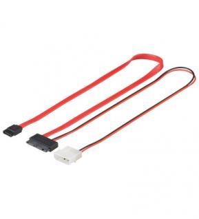 MicroSATA Anschlusskabel 1.5 Gb/s / 3.0 Gb/s, 30cm, Good Connections®