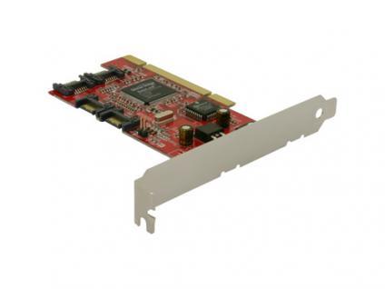 S-ATA PCI Controller Vierkanal + RAID, Delock® [70154]