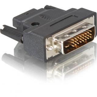 Adapter DVI-25pin Stecker > HDMI Buchse, Delock® [65024]